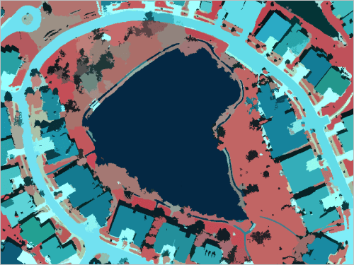 Calculate Impervious Surfaces from Spectral Imagery