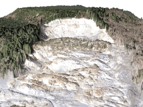 Build a 3D Scene for the Oso Mudslide in Washington