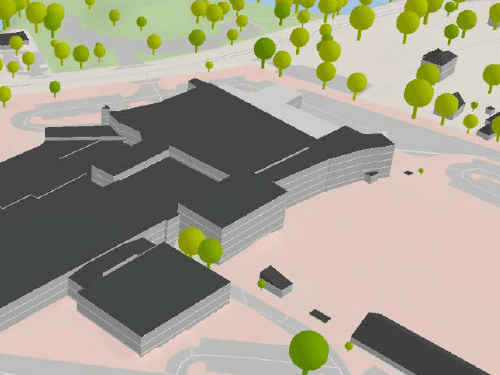 Construct Realistic 3D View of a Scene