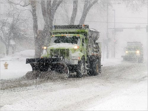 Oversee Snowplows in Real Time