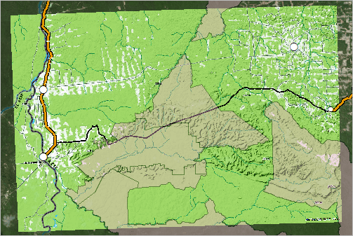Proposed Road contextualized