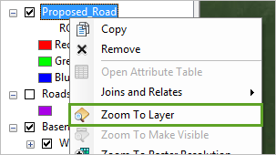Zoom To Layer