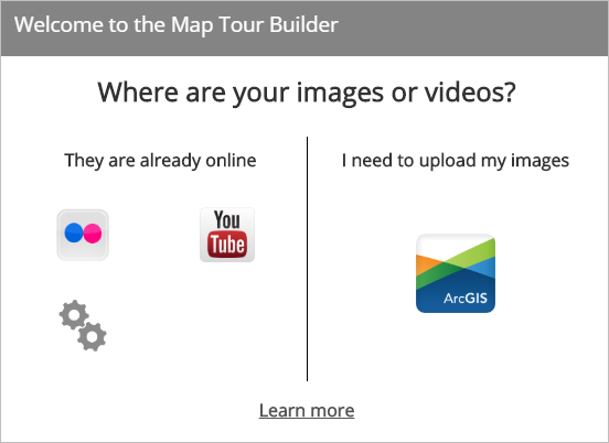 Welcome to the Map Tour Builder