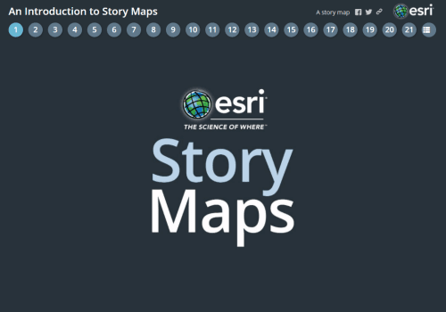 Get Started with Story Maps
