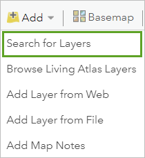 Search for Layers